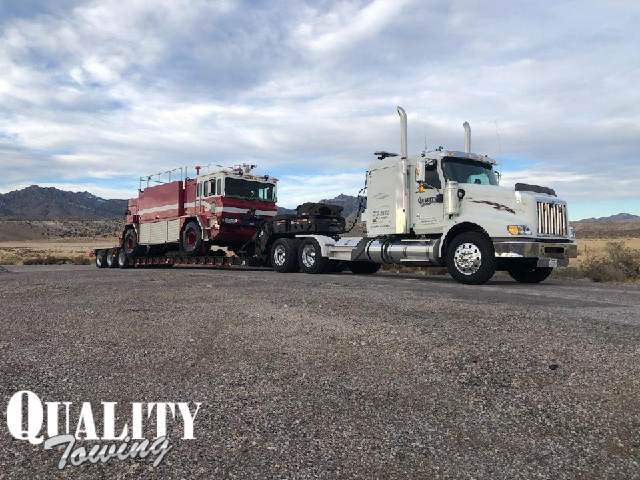Lowboy Towing in Nevada