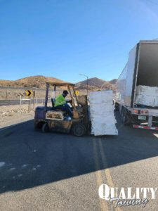 Load Shift Causes I-15 Rollover