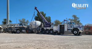 Towing Company Lifts 40,000lb