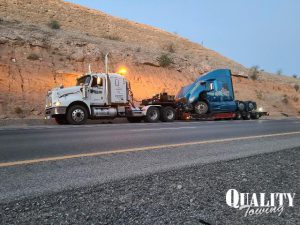 Tow Truck Service Clears I-15 Crash
